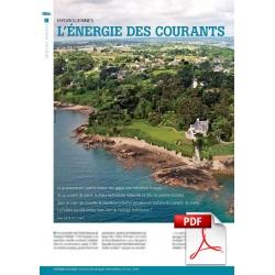 Hydroliennes : l'énergies des courants sous bonne tension (Article PDF)