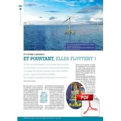 Éoliennes marines :  Et pourtant, elles flottent (Article PDF)