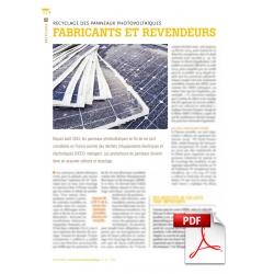 Fabricants et revendeurs face à leur devoir (Article PDF)