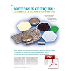 Matériaux critiques (Article PDF)