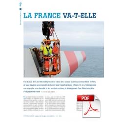 Éolien offshore : la France va-t-elle rester à quai ? (Article PDF)