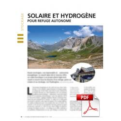 Solaire et hydrogène, pour refuge autonome (Article PDF)