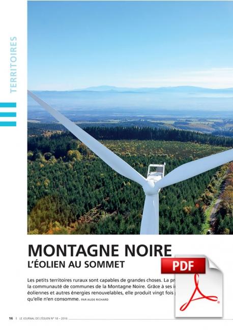 Montagne Noire - L'éolien au sommet (Article PDF)
