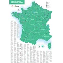 Poster 2016 - Atlas des installations de méthanisation en France