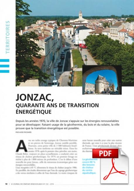 Jonzac - Quarante ans de transition Energétique (Article PDF)