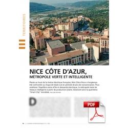 Nice Côte d'Azur, métropole verte et intelligente (Article PDF)