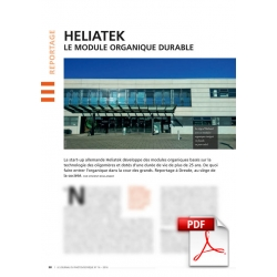 Heliatek, le module organique durable (Article PDF)