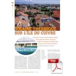 Solaire thermique sur l'île du cuivre (Article PDF)