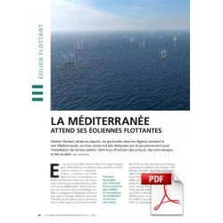 La méditerranée attend ses éoliennes flottantes (Article PDF)