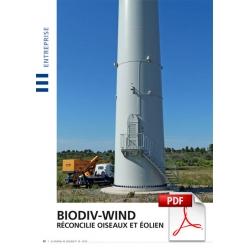 Biodiv-Wind réconcilie oiseaux et éolien (Article PDF)