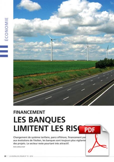 Financement - Les banques limitent les risques (Article PDF)