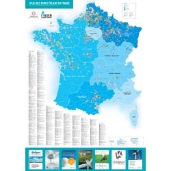 Poster 2016 - Atlas des parcs éoliens en France
