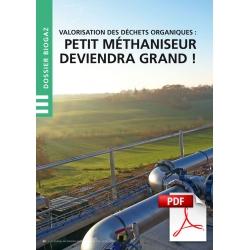 Article PDF - Dossier Biogaz : Valorisation des déchets organiques (Mai/Juin/Juillet 2016)