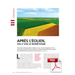 Après l'éolien, Vol-V vise le biométhane (Article PDF)