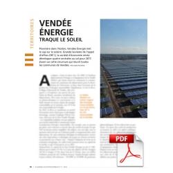 Vendée Énergie traque le soleil
