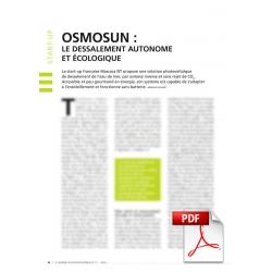Osmosun : le dessalement autonome et écologique (Article PDF)