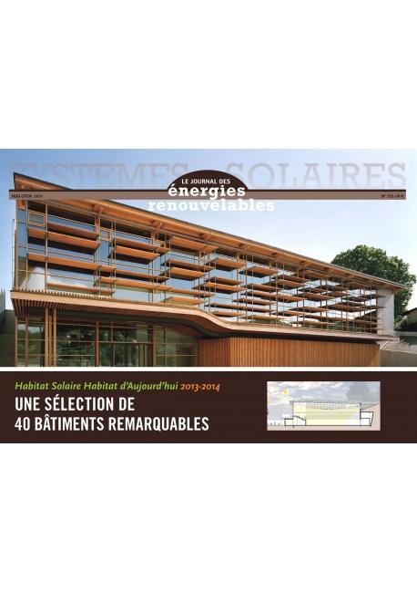 Habitat Solaire Habitat d'Aujourd'hui 2013-2014