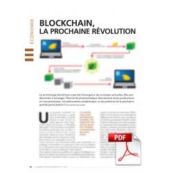Blockchain, la prochaine révolution énergétique ? (Article PDF)
