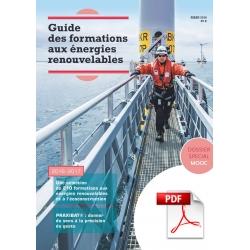 Guide des formations aux énergies renouvelables 2016-2017 (PDF)