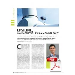 Epsiline, l'anémomètre à moindre coût (Article PDF)