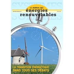 Numéro 213 du Journal des Énergies Renouvelables
