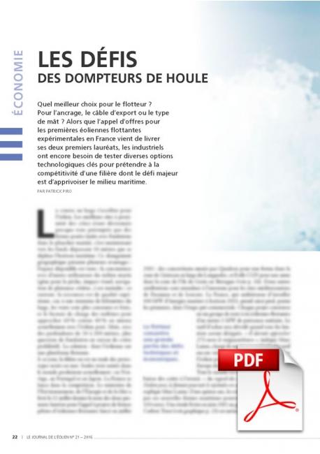Les défis des dompteurs de houle (Article PDF)