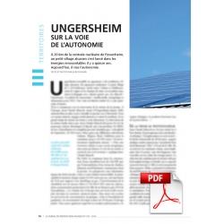 Ungersheim sur la voie de l'autonomie (Article PDF)