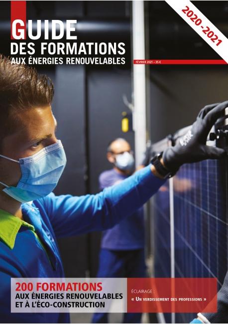 Guide des formations aux énergies renouvelables 2020-2021