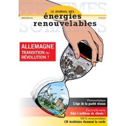 Numéro 214 du Journal des Énergies Renouvelables