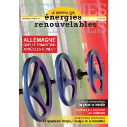 Numéro 217 du Journal des Énergies Renouvelables