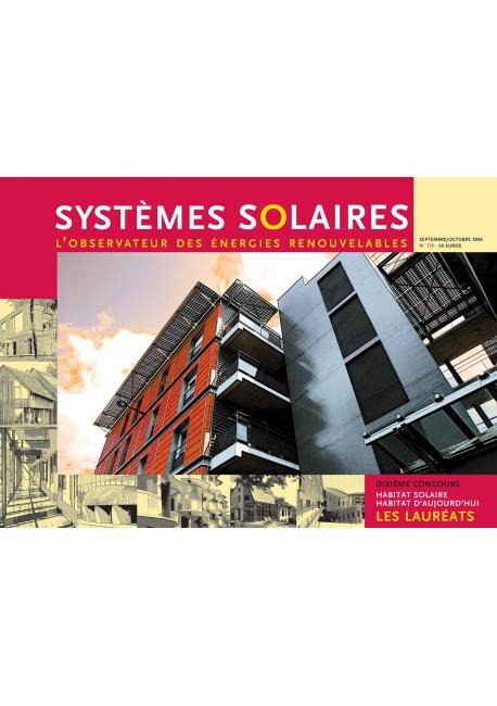 Habitat Solaire Habitat d'Aujourd'hui 2005-2006