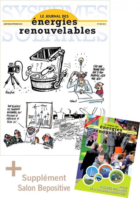 Numéro 225 du Journal des Énergies Renouvelables