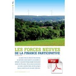 Les forces neuves de la finance participative (Article PDF)