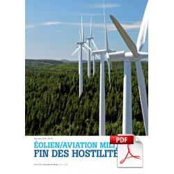 Éolien/Aviation militaire : fin des hostilités ? (Article PDF)