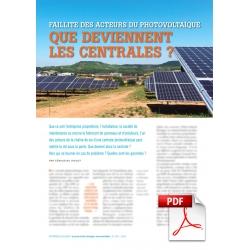 Article PDF - Faillite des acteurs du photovoltaïque (Janv./Février 2015)
