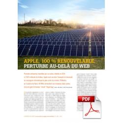 Article PDF - Apple, 100 % renouvelable (Nov./Décembre 2014)