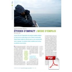 Éolien offshore français - Etudes d'impact : mode d'emploi (Article PDF)