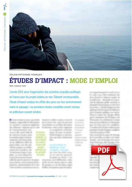 Article PDF - Éolien offshore français (Sept./Octobre 2014)