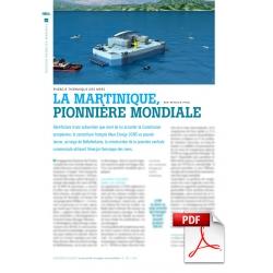 Énergie thermique des mers : la Martinique, pionnière mondiale (Article PDF)