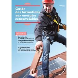 Guide des formations aux énergies renouvelables 2015-2016