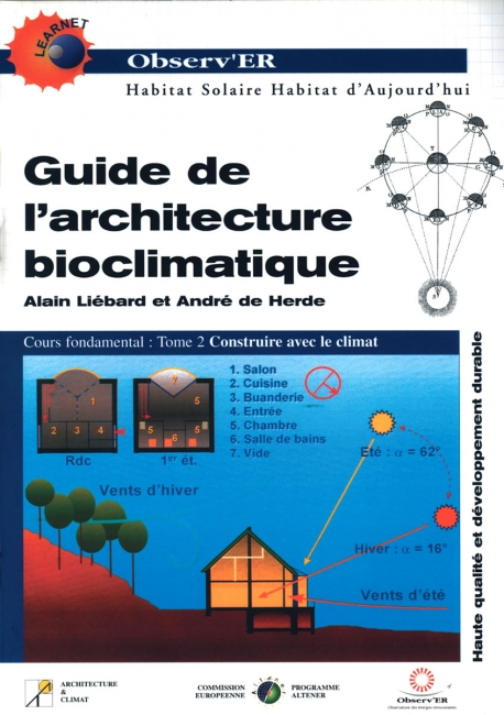 Guide de l'architecture bioclimatique - Tome 2