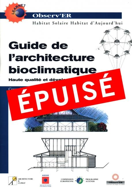 Guide de l'architecture bioclimatique - Tome 2