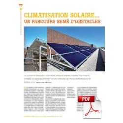 Climatisation solaire ... un parcours semé d'obstacles (Article PDF)