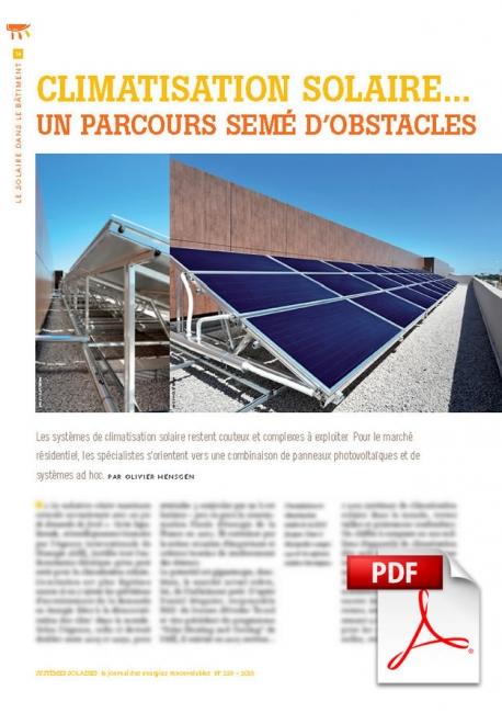 Article PDF - Climatisation solaire (Juillet/Août 2015)