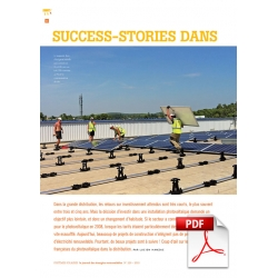 Article PDF - Success-stories dans le PV sur toitures tertiaires (Sept/Octobre 2015)