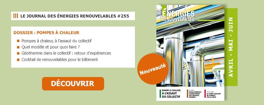 Le Journal des Énergies Renouvelables n°255